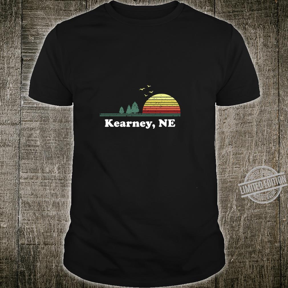 Vintage Kearney, Nebraska Home Souvenir Print Shirt