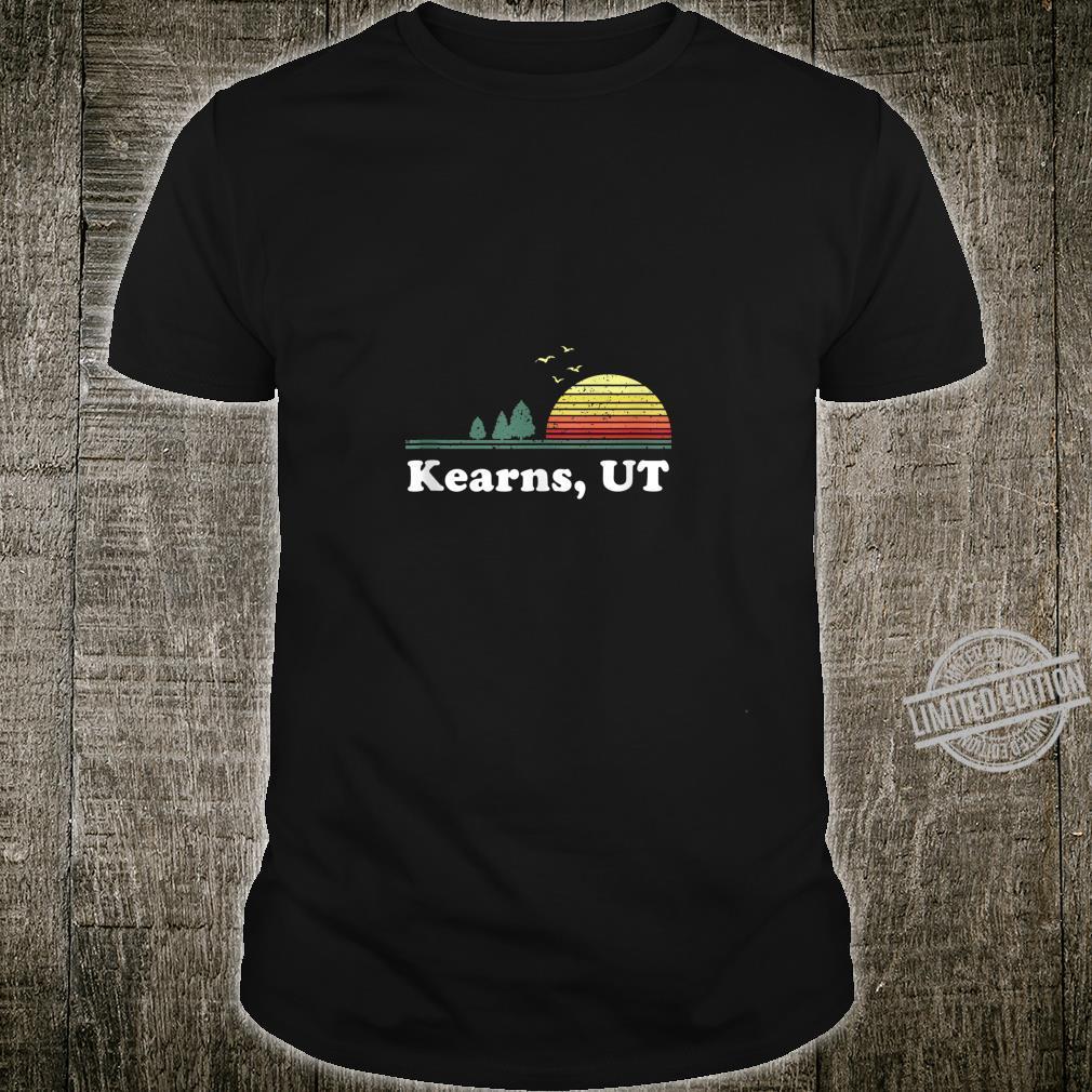 Vintage Kearns, Utah Home Souvenir Print Shirt