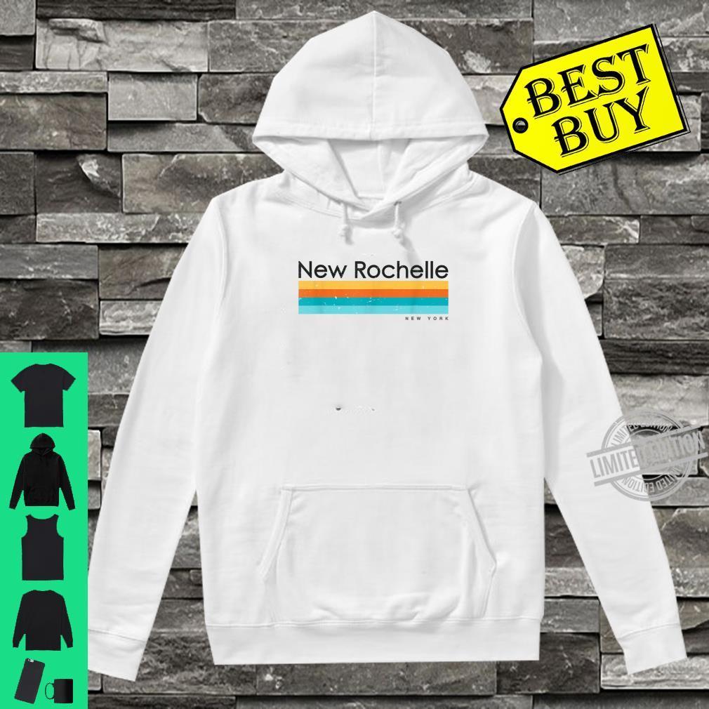 Vintage New Rochelle New York Retro Design Shirt hoodie