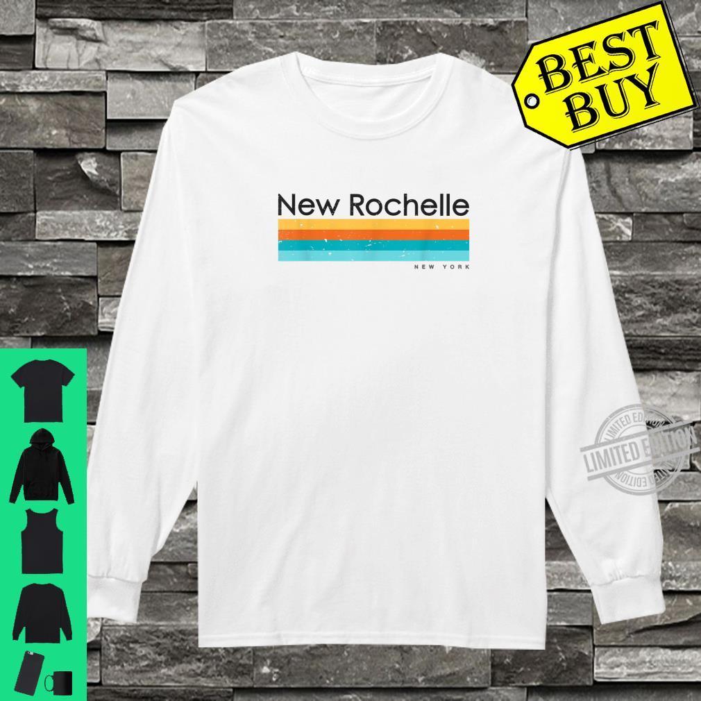 Vintage New Rochelle New York Retro Design Shirt long sleeved
