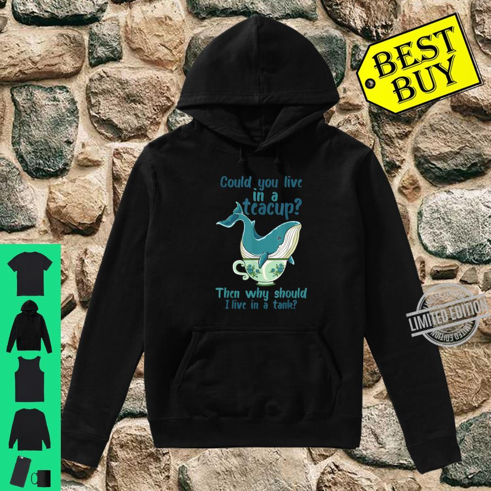 Whale Save The Whales Shirt hoodie