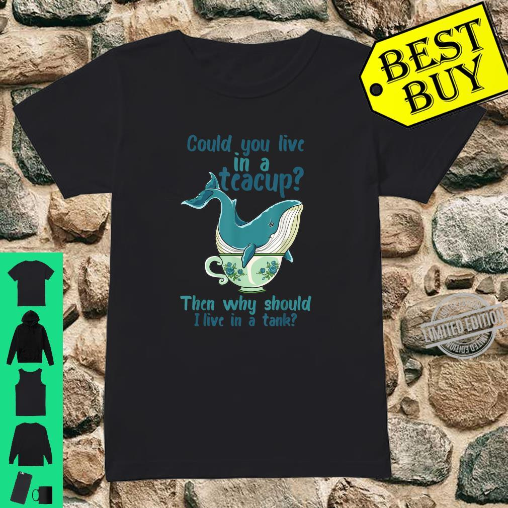 Whale Save The Whales Shirt ladies tee
