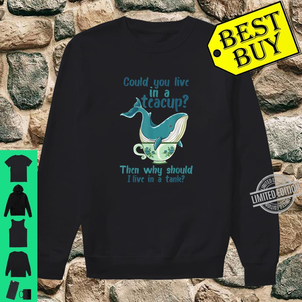 Whale Save The Whales Shirt sweater